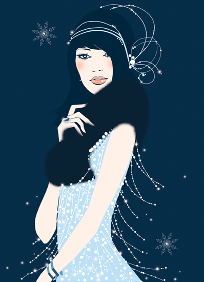 fashion-illustration-christmas-girl