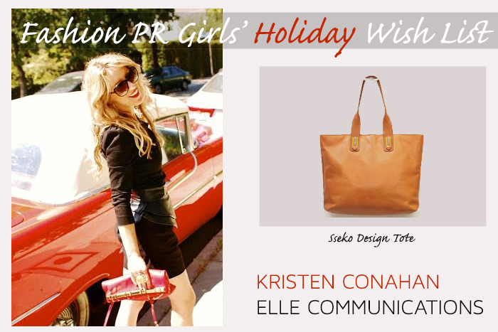 Fashion PR Girl Holiday Wish List, Sseko