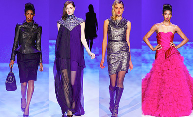 NYFW F/W 2010 Christian Siriano Runway Recap and Video