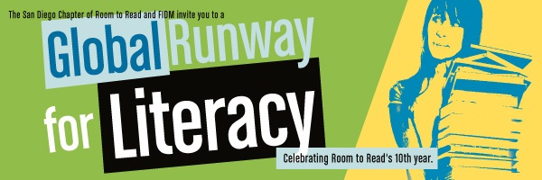 Roon to Read San Diego Global Runway Literacy