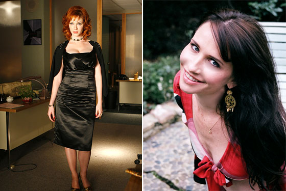 Christina Hendricks as Joan Holloway; Janie Bryant. Image: NYMag