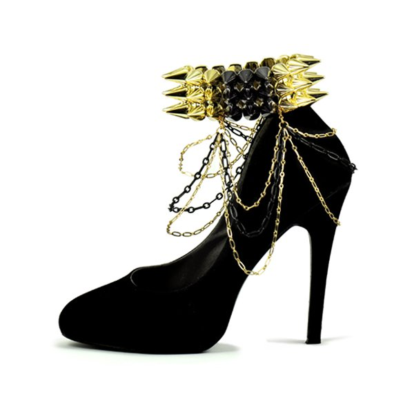 k2o by Karen Ko - Spike Ankle Cuffs