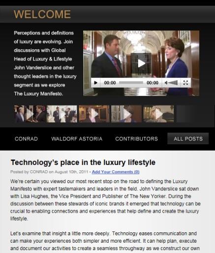 Luxury Manifesto