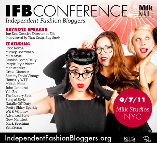 Stream the Independent Fashion Bloggger Conference Right From PR Couture