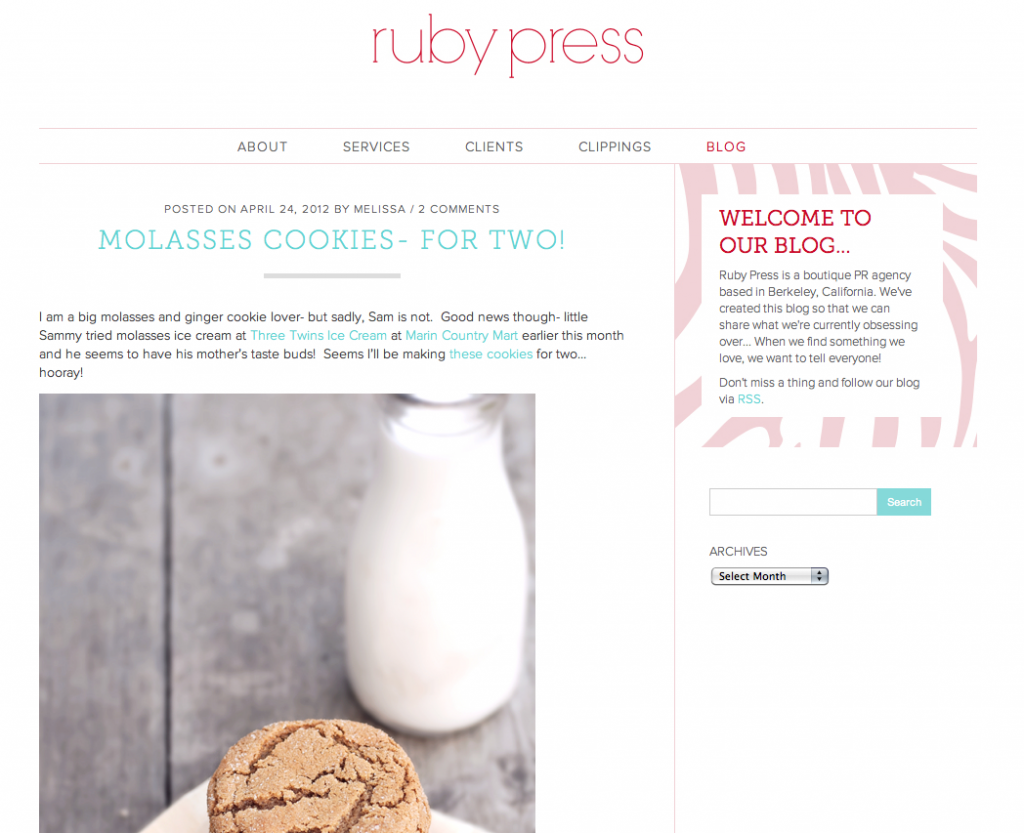 Ruby Press Fashion PR