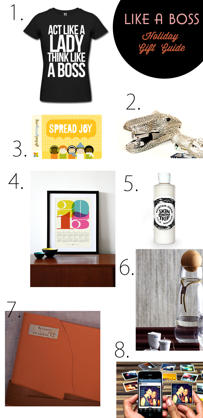 Fashion PR Boss Coworker Gift Guide
