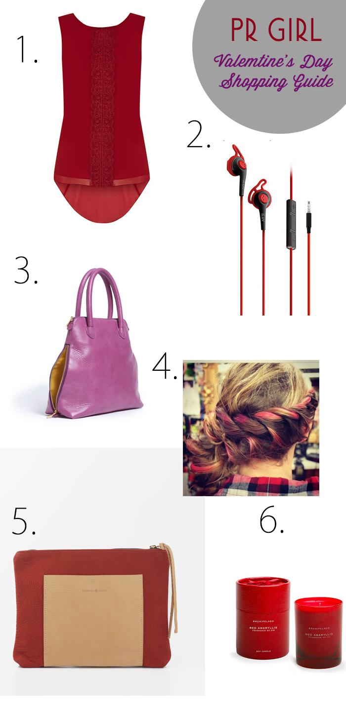 PR GIrl Valentine's Day Shopping Guide