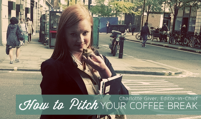 How to Pitch Your Coffee Break