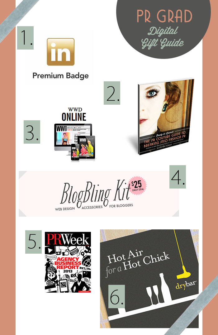 Digital Fashion PR Grad Gift Guide