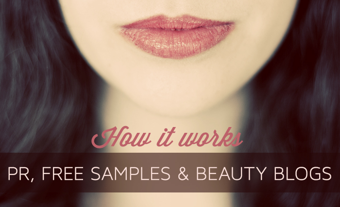 Public Relations, Beauty Bloggers and Free Samples
