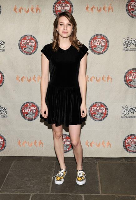 Emma Roberts for Vans