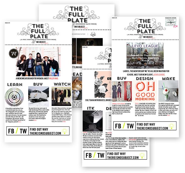 PR marketing newsletter