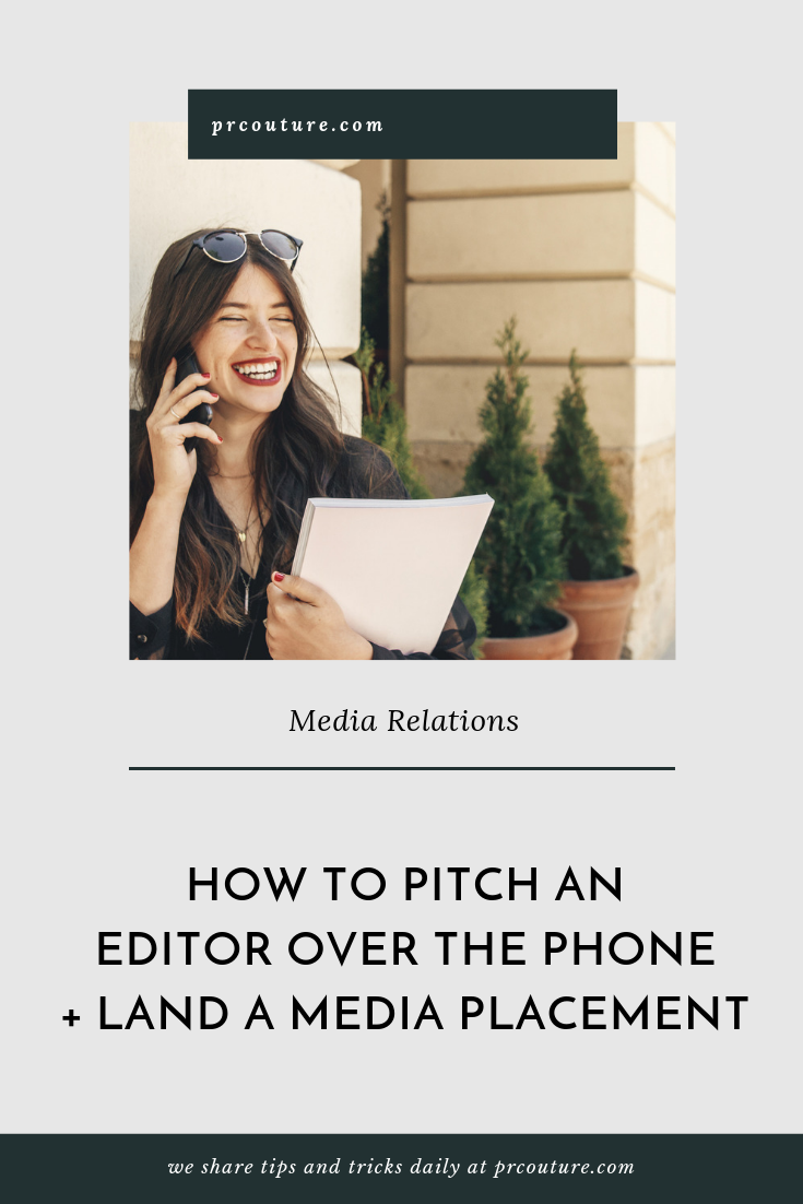 Ready to steady your nerve and start dialing? Not so fast! There is certain phone etiquette to remember when calling an editor or journalist to land publicity/media coverage.