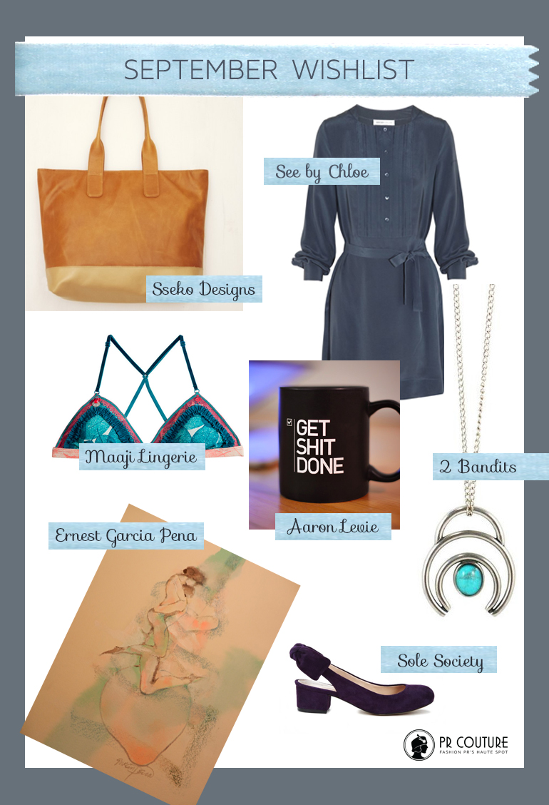 September Shopping Guide