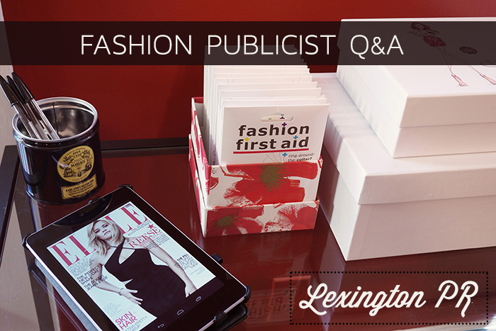 Career Q&A Fashion Publicist Suki, Lexington PR