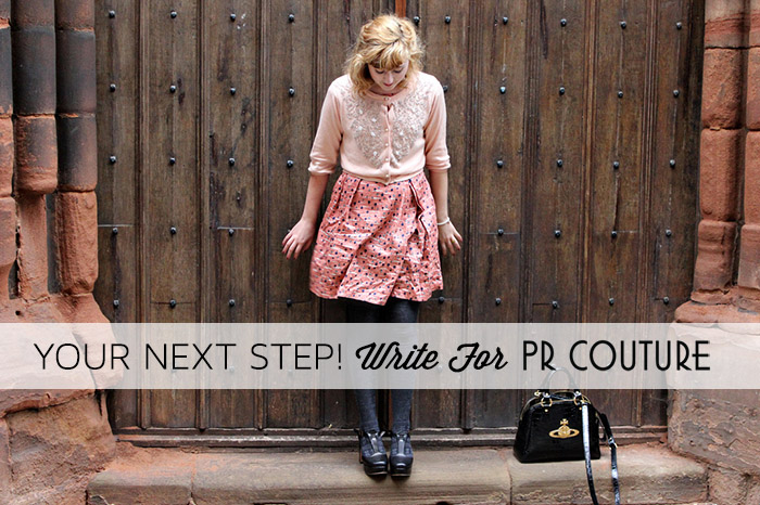 PR Couture is Looking for Writers!