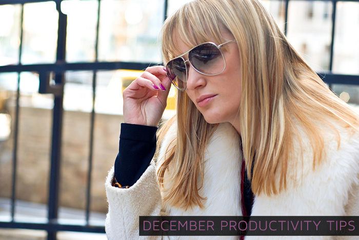 How to Make December a Productive Month for Business #prtips