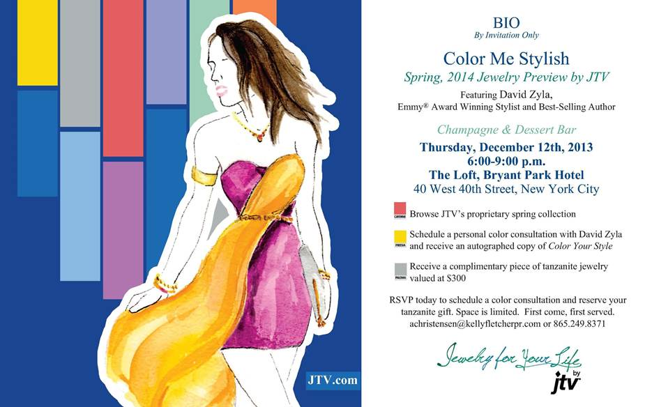 Jewelry TV Event Media Preview Invitation NYC