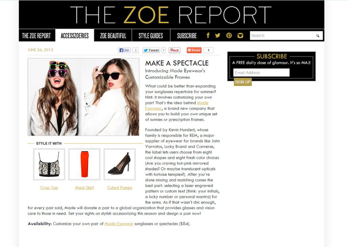Made_The Zoe Report