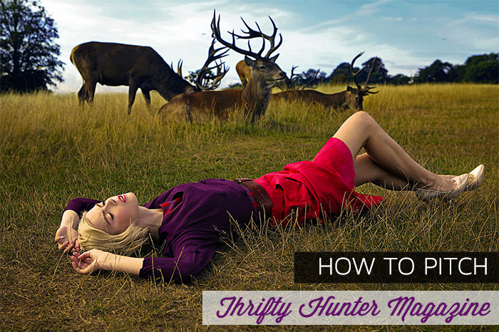 How to get press coverage in Thrifty Hunter - Affordable Fashion Mag