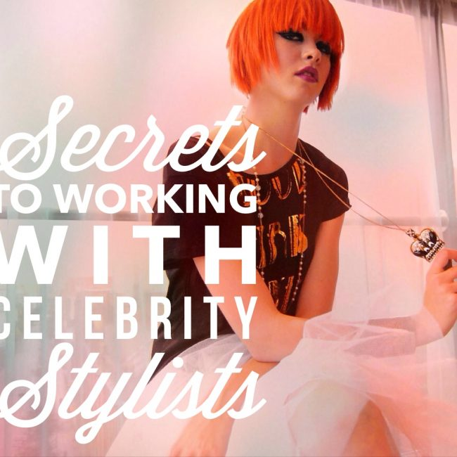 Work with Celebrity Stylists