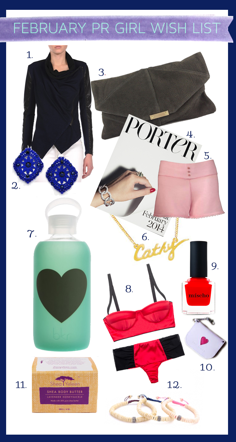 What PR Girls Want for February