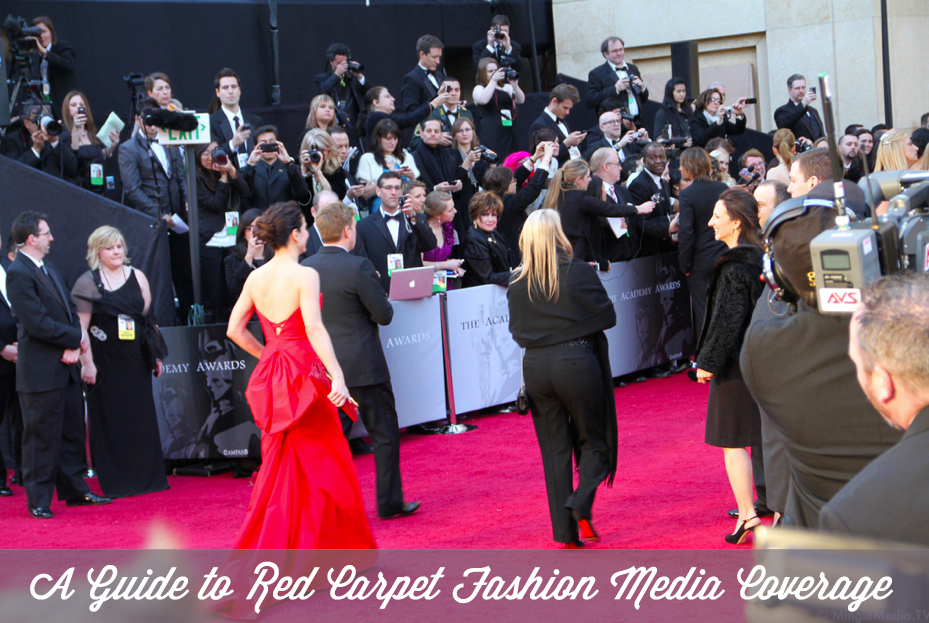 How fashion publicists land post-award show press