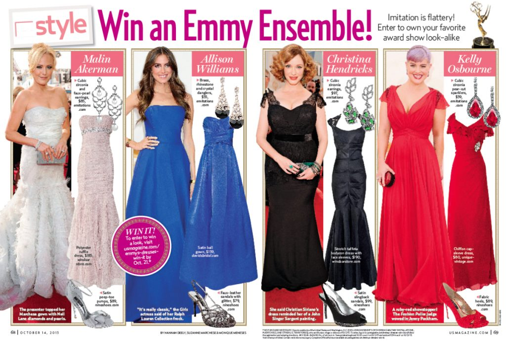 How to Pitch Emmy Fashion Award Show Coverage