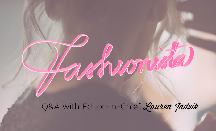 how to land press on Fashionista.com