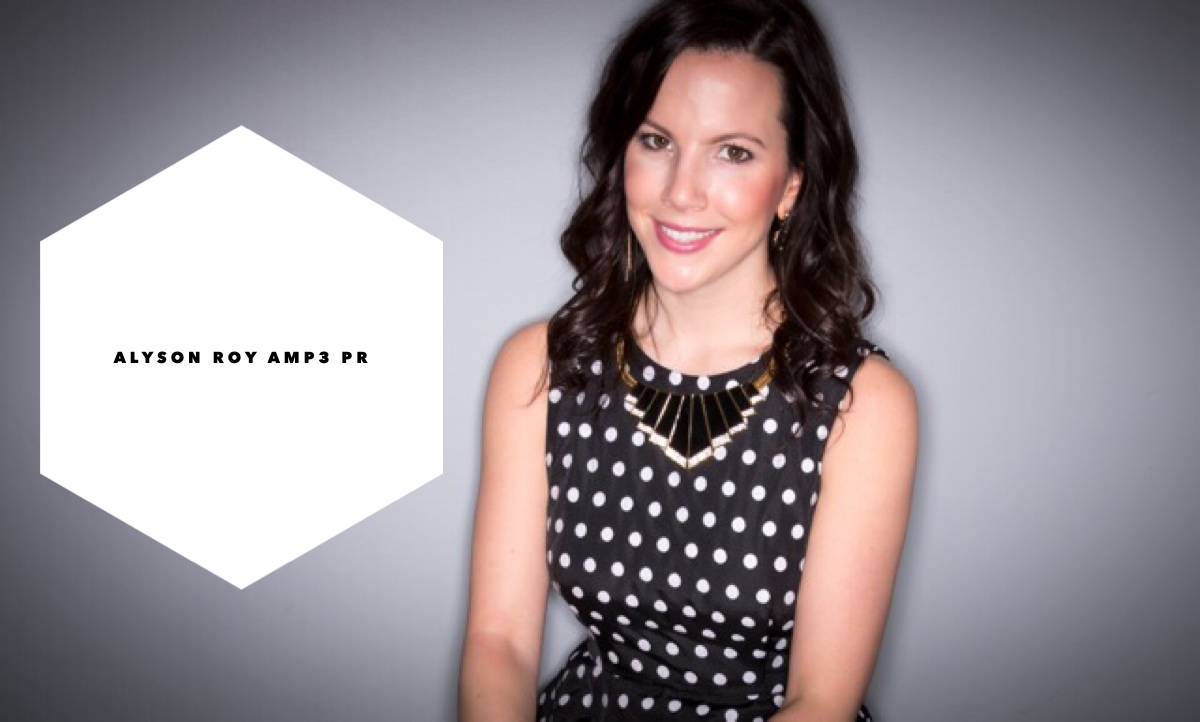 Alyson Roy, Co-Founder of AMP3 Public Relations