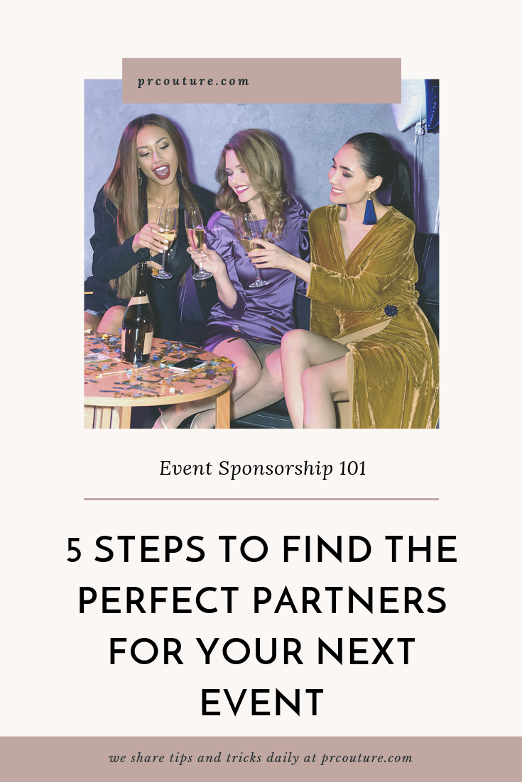 We break down the 5 essential steps of securing successful partnerships for event marketing