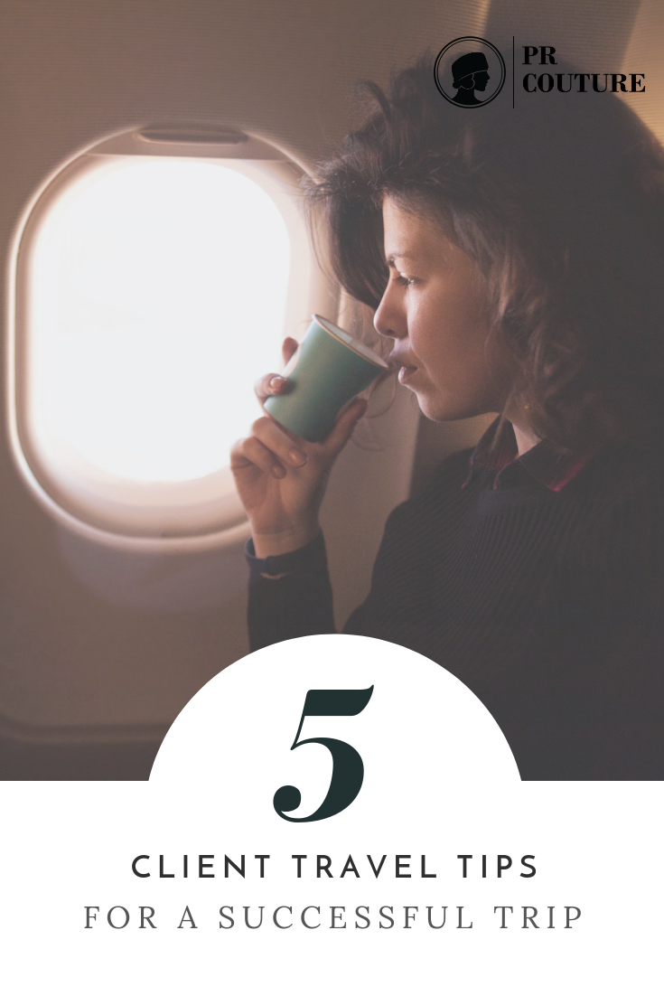 Traveling with a client can bring on a mixture of emotions, but if you have a strategy in place the chances of the trip running smoothly are much higher.