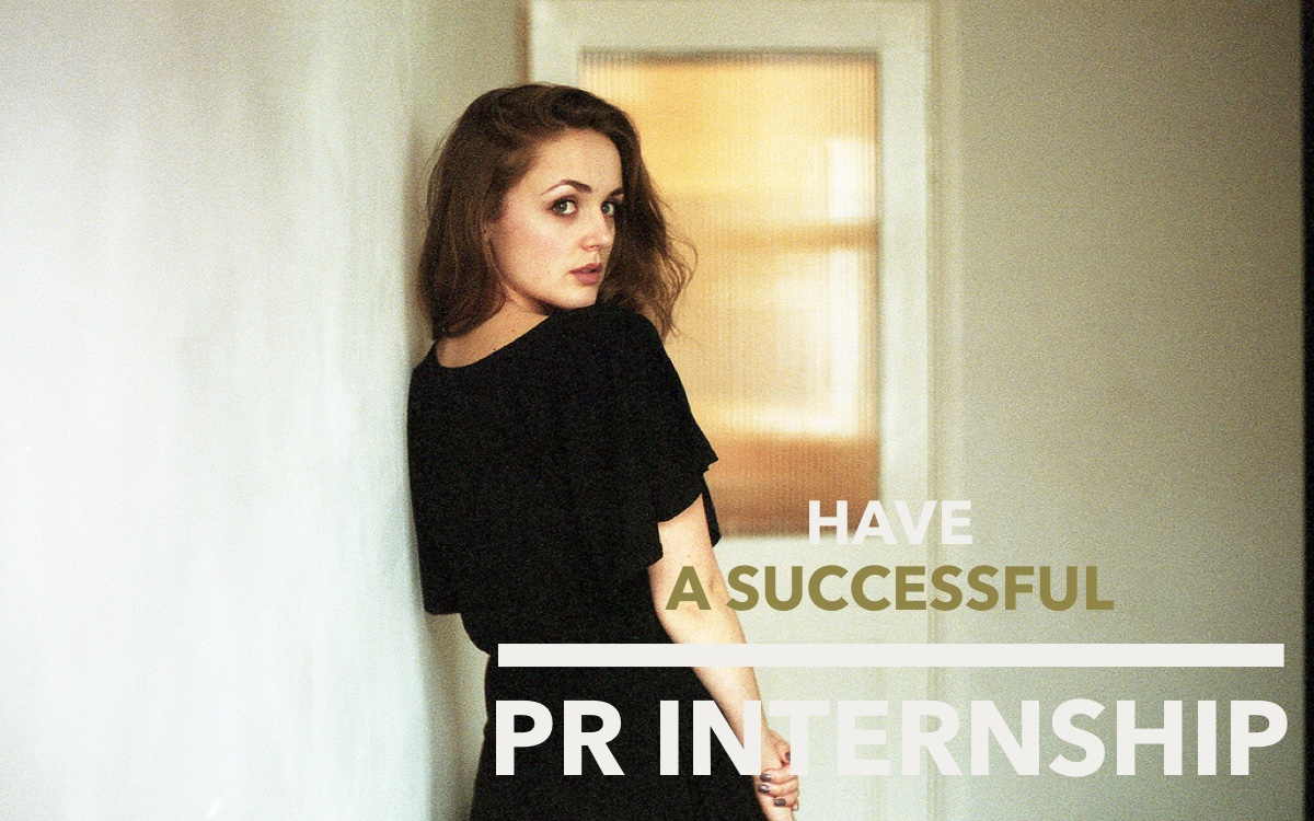 PR Internship Tips