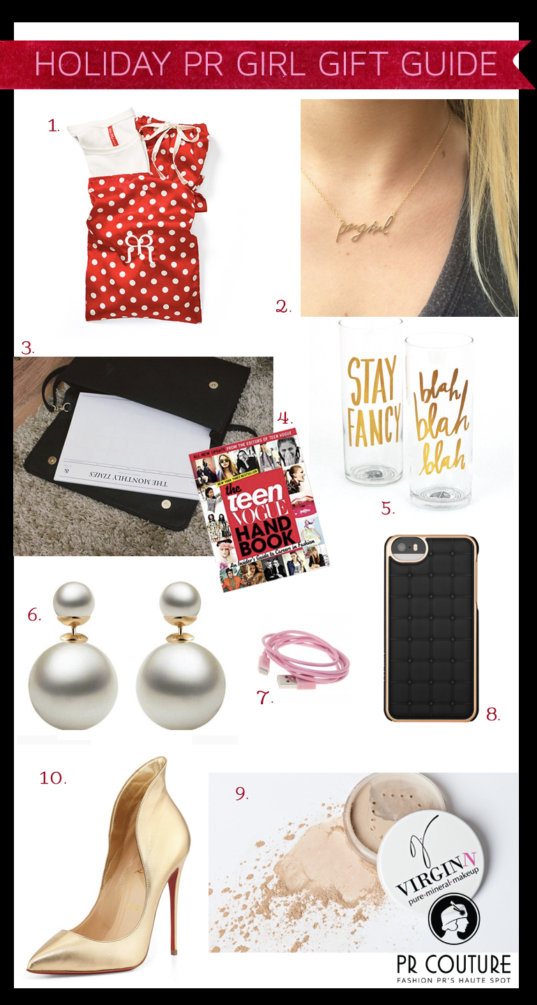 Gift Guides for the PR Girl on Your List