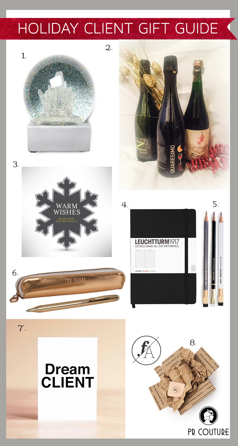 Stylish client gift ideas for publicists, freelancers, creatives