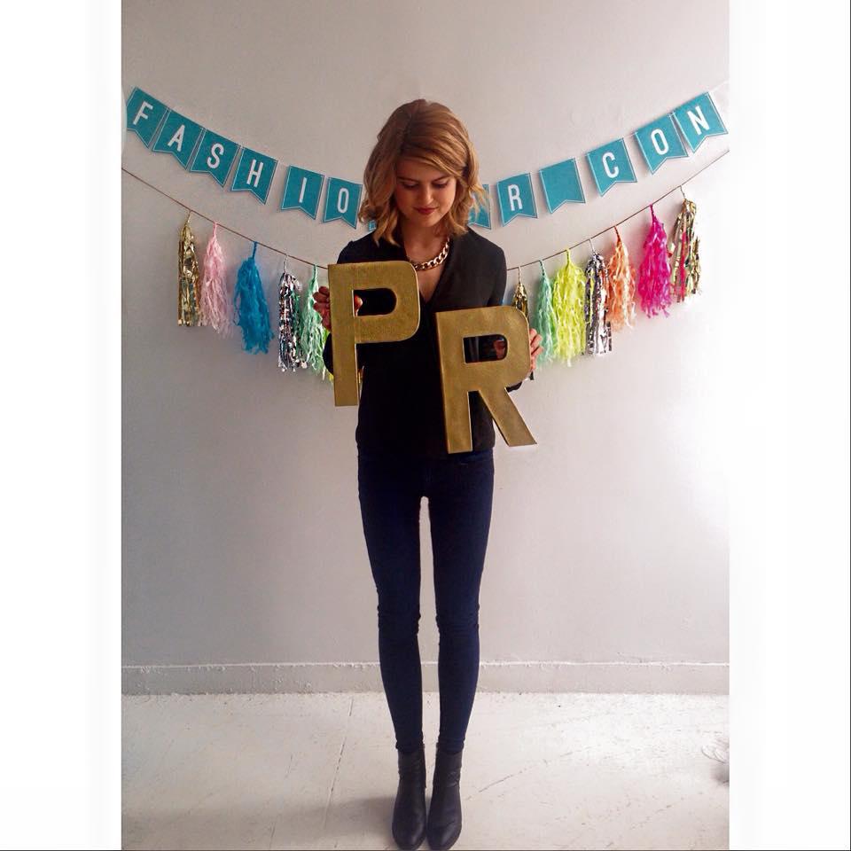 Ashley Cook, Fashion PR Con