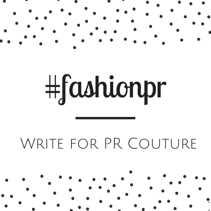 Contribute to PR Couture