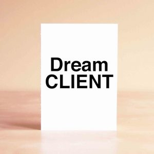 Dream Client Thank You Greeting Card