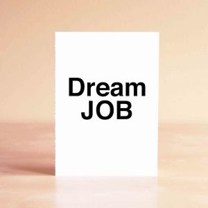 Dream Job Thank You Greeting Card