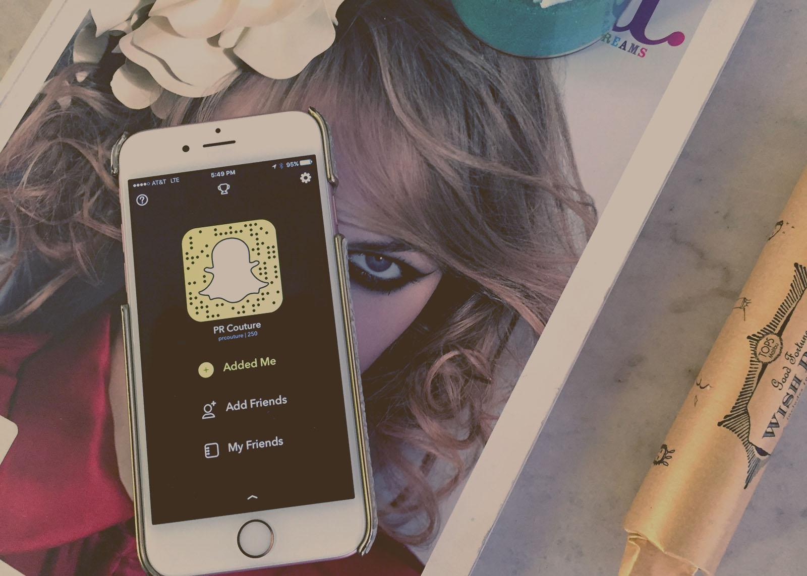 PR Guide to Snapchat