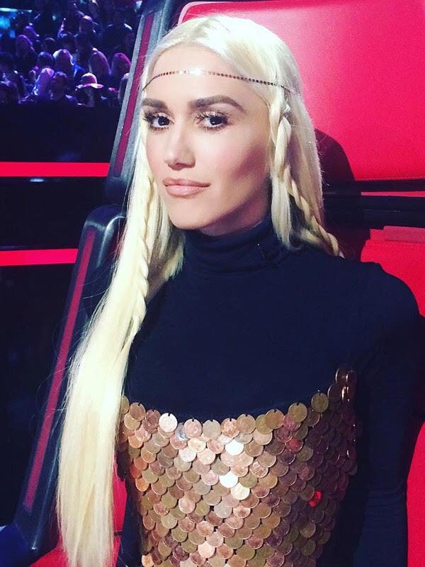 Gwen Stefani wearing LANA Jewelry