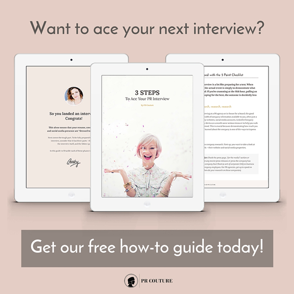 Ace Your Interview Free Guide Promotion