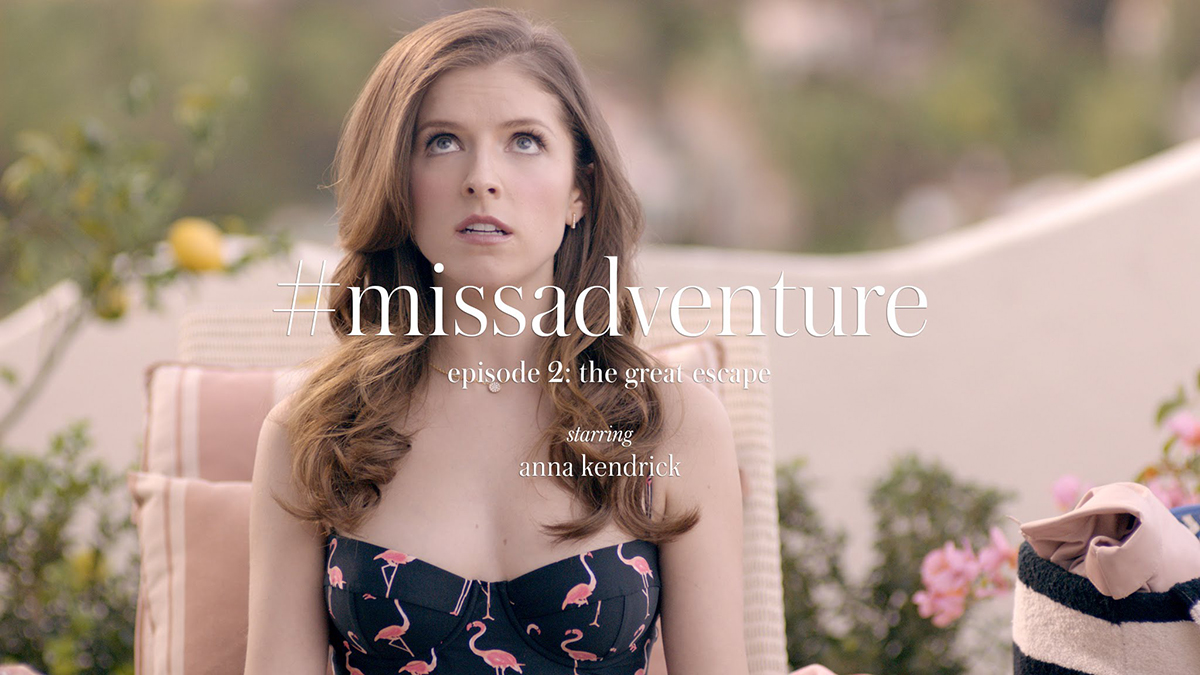 Kate Spade Miss Adventure Campaign