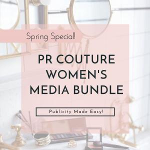 Media List, Media list bundle, womens fashion media list bundle, womens fashion, pr couture