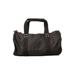 Holiday Gift Guide Barking Irons Dwarf Duffle in Black