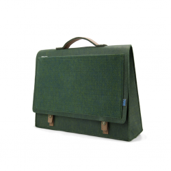 M.R.K.T. Midnight Green Briefcase