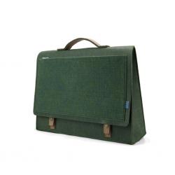 M.R.K.T. Midnight Green Briefcase