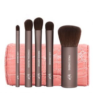 Brush off 2016When was the last time you replaced your makeup brushes? If you're anything like us...never? Do your skin - and your makeup bag - a favor and pick up this delightful travel pack of palm-sized vegan makeup brushes. Jenny Patinkin Petite Brush Collection, $85 available at Jenny Patinkin