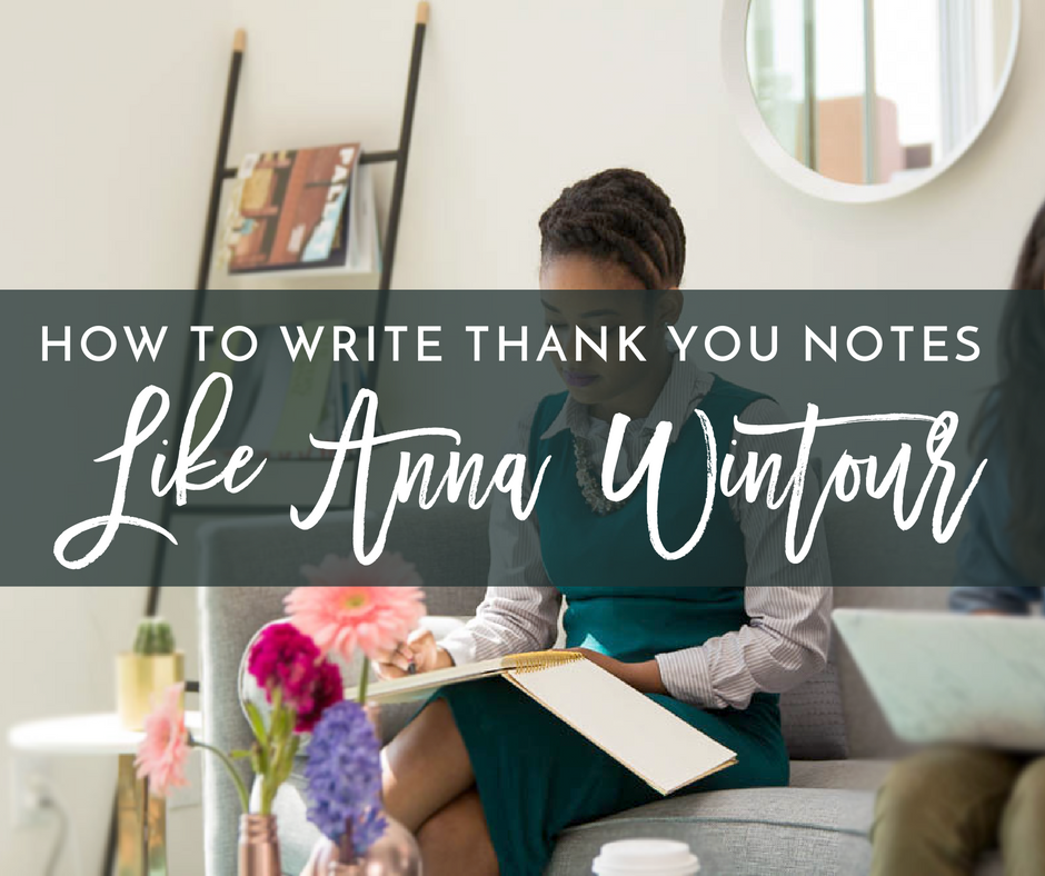 5 Steps to Writing a Truly Exceptional Thank You Note