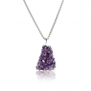 Like RoyaltyWe can think of no better sentiment when navigating our stress-filled, crazy industry than this 'To Thine Own Self Be True' Necklace, featuring the clarity boosting properties of amethyst. To Thine Own Self Be True Necklace, $79 (though the entire site is 50% off for a limited time), available at Agooa